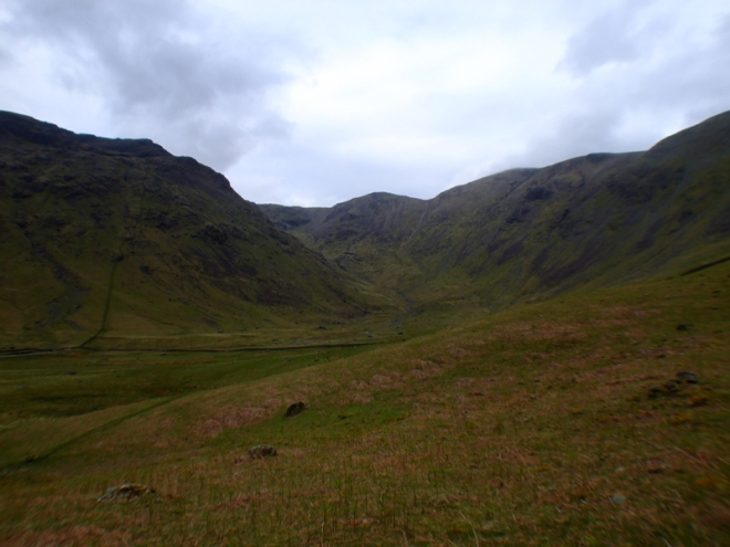 Looking up the Mosedale Valley